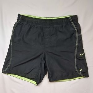 "Vintage Nike Swim Trunks 5"" Inseam"